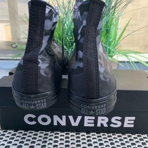 Converse Shoes - Converse Chuck Taylor Black White Camo Hi Tops
